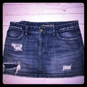 American Eagle denim skirt size 8